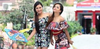 Ashishma Nakarmi and Namrata Sapkota