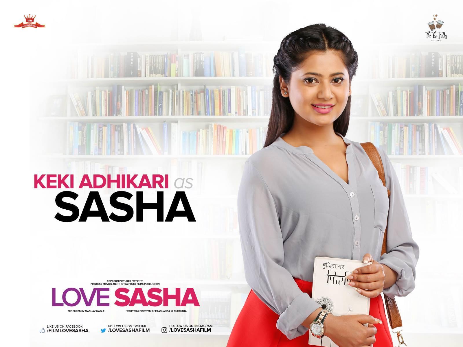 Keki Adhikari as Sasha in Love Sasha Movie