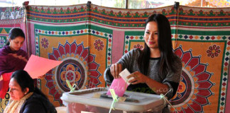 Malvika Subba votes new