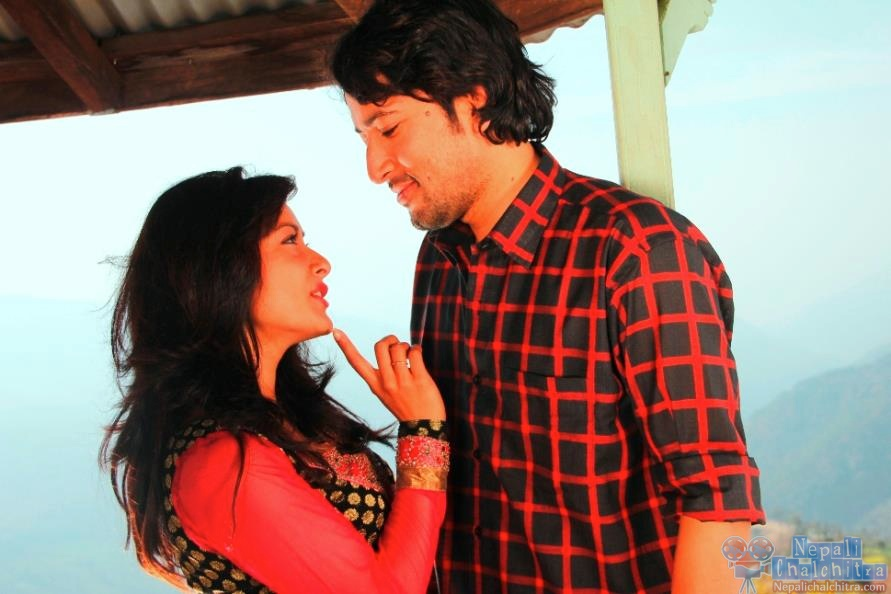 Namrata Shrestha and Raymon das shrestha