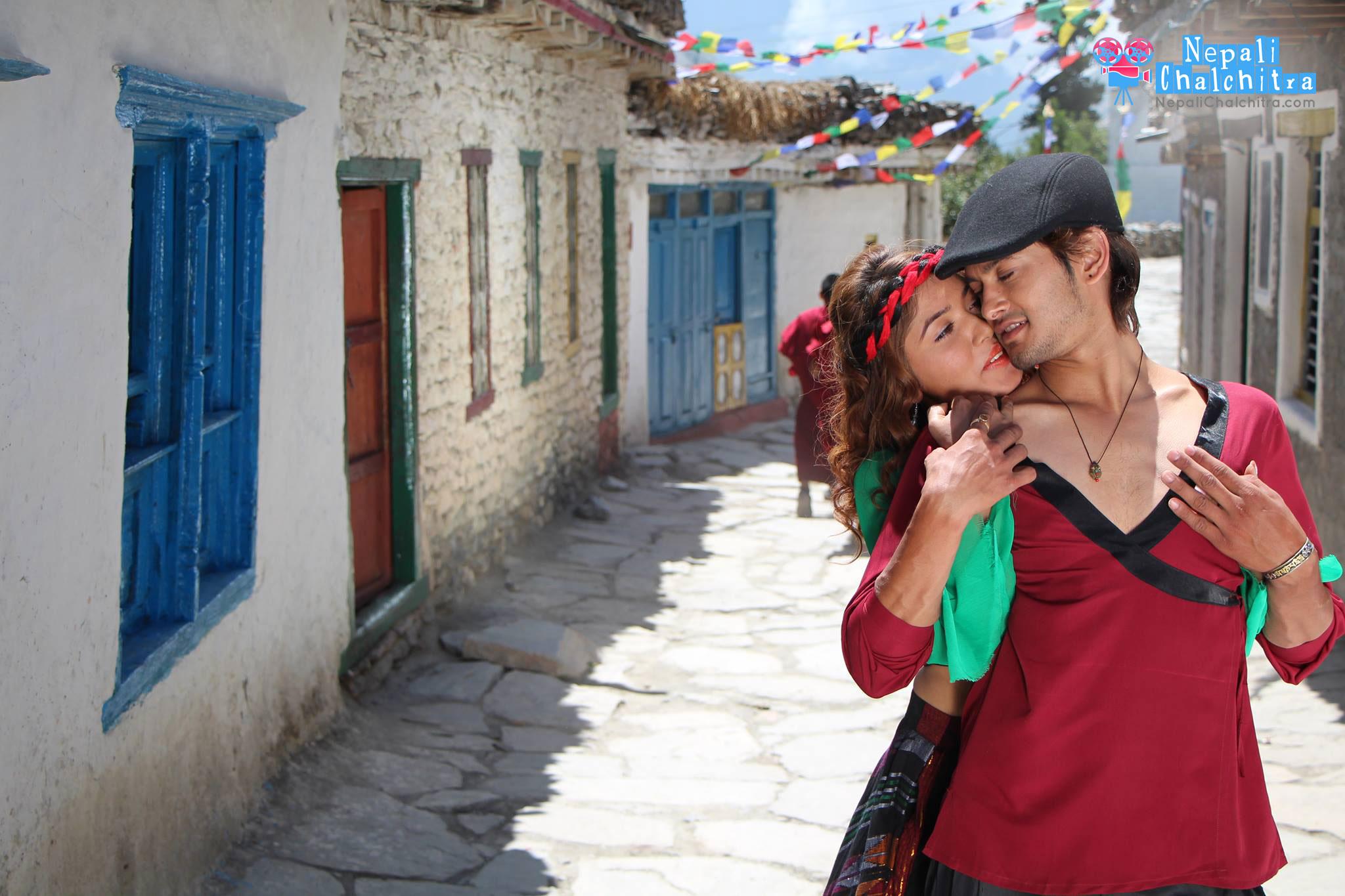 Prem Geet Movie Pooja Sharma Beautiful with Pradeep Khadka Actor