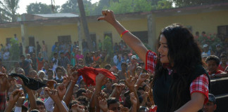 Rekha Thapa in baal Matlab Lanka Nepali Movie