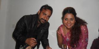 Richa-Ghimire-Celebrating-Birthday-with-her-husband-Shankar-Ghimire