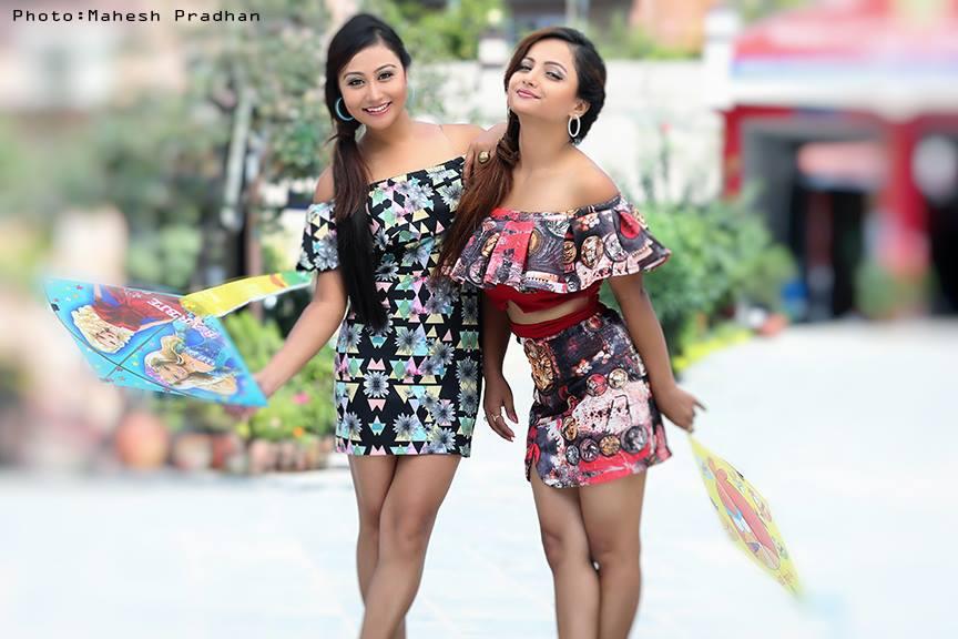 Ashishma Nakarmi and Namrata Sapkota saptahik magazine